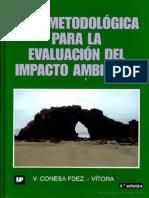 Guia Metodologica de Evaluacion Impacto Ambiental