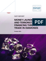 Fatf Repot on Money Laundering Through Diamonds