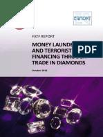 Fatf Repot on Money Laundering Through Diamonds