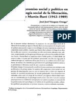 Compromiso Social y Politico en La Psicologia Social de La Liberacion Martin Baro
