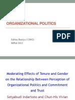 Presentation on Organizational Politics