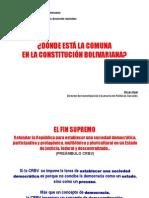 Donde Esta Comuna Constitucion Bolivariana