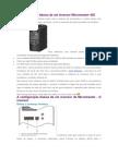 A configuração básica de um inversor Micromaster 420