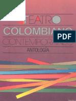 Antologia Del Teatro Colombiano