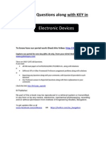 ELCTRONIC DEVICES AND CIRCUITS