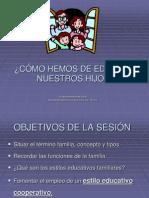 13.Estilos Educativos Familiares 2008