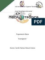Conceptos Basicos Para Programacion Basica