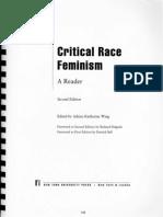 Critical Race Feminism