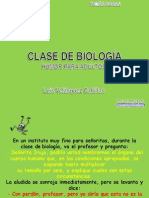 Clase de Biologia