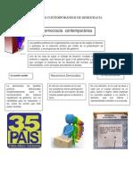 C 5ENFOQUES CONTEMPORÁNEOS DE DEMOCRACIA