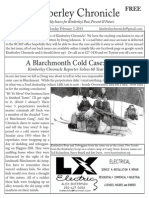 Kimberley Chronicle Issue #38. A Blarchmont Cold Case