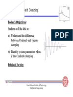 Lecture 5 - Coulomb Damping