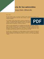 Albareda, Josep - Vivencias de Los Asteroides