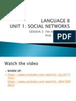 02 Unit 1 Social Networks