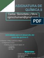 presentación quimica ll