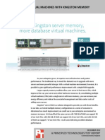 Support more virtual machines with Kingston memory