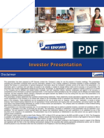 MT Edu Investor Presentation Q2Update 2013 14
