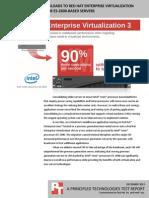 Migrating server workloads to Red Hat Enterprise Virtualization on Intel Xeon processor E5-2600-based servers