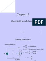 THEORY OF MUTUAL INDUCTANCE AND COUPLED CIRCUITS