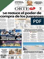 Periódico Norte edición impresa día 3 de febrero 2014