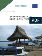 Solomon Islands - Gizo Urban Profile
