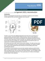 Anterior Cruciate Ligament ACL Reconstruction_dec11