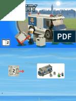 Lego City Bank Truck