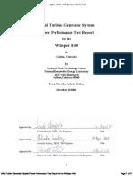 Whisperh40 Power Performance Test Report 900w