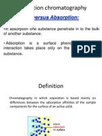 Adsorption Chromatography
