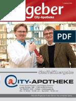 Ratgeber aus Ihrer City-Apotheke – Februar 2014