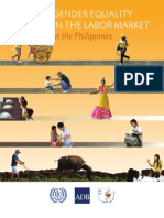 Gender Equality in the Labor Market in the Philippines