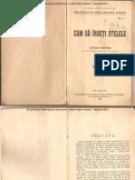 Cum Sa Inveti Stelele-Victor Anestin-1913
