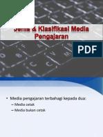 Jenis & Klasifikasi Media Pengajaran