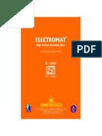 Electromat Catalogue