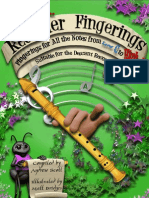 recorder-fingerings