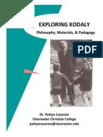 Exploring Kodaly