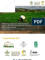 Methodology mapping for resilient production systems