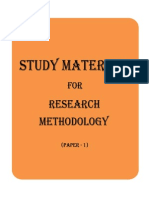research methodology notes