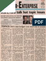 Bartlesville Examiner Enterprise -  Sears Ford Talk Hot Topics Jan 30 2014