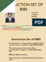 8085 Instruction Set