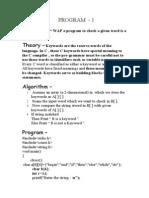 Compiler Lab Manuals