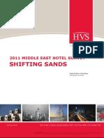 HVS - 2011 Middle East Hotel Survey - Shifting Sands