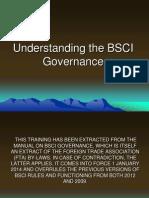 01 - Understanding BSCI Governance