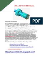 Asal Mula Sistem Hidrolik