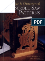 Decorative Ornamental Scroll Saw Patterns