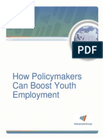 How Policymakers Can Boost Youth Employment