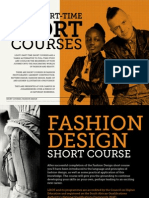 LISOF's Part-time Fashion Design Short Course