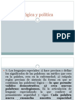 Lógica y política. Sartori. CDPP.