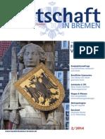 Wirtschaft in Bremen 02/2014 - Januarrede des Präses