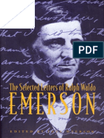 Emerson, Ralph Waldo - Selected Letters (Columbia, 1997)